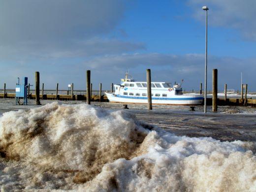 Nordsee Eiswüste 2010