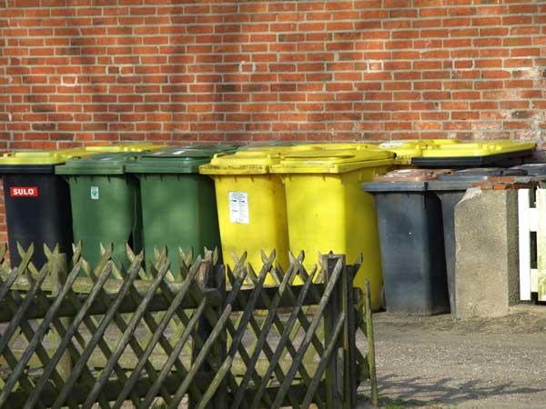 Mangelnde Mülltrennung wird teuer in Nordfriesland
