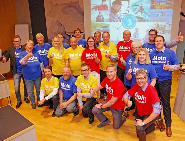Moin Lieblingsland.  Wirtschaftsförderung und Kreis Nordfriesland starten Imagekampagne