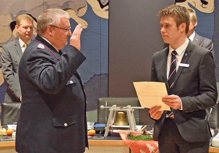 Nordfriesland: Dirk Paulsen zum neuen Kreiswehrführer ernannt