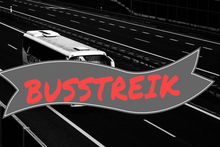 Streik in Nordfriesland und Kreis SL-FL! Busverkehr ab Mittwoch wieder fünf Tage eingeschränkt