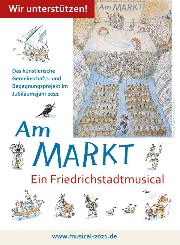 Ein Friedrichstadtmusical im Jubiläumsjahr 2021 – zum Mitmachen – jetzt anmelden
