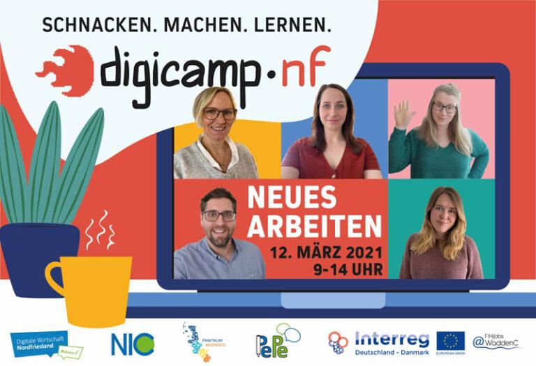 Coworking, Onboarding, Homeoffice – Barcamp über neue Arbeitsformen
