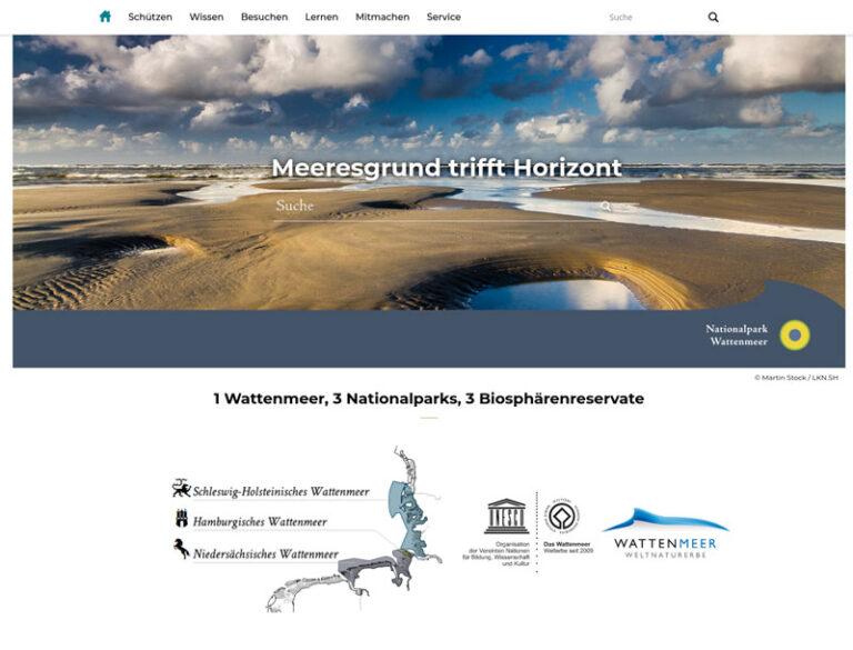 Jung und dynamisch: Neue Website der drei Wattenmeer-Nationalparks ist online