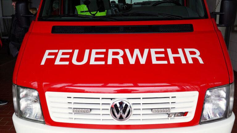 Innenministerium fördert die Erweiterung des Feuerwehrgerätehauses in Wyk auf Föhr mit 750.000 Euro