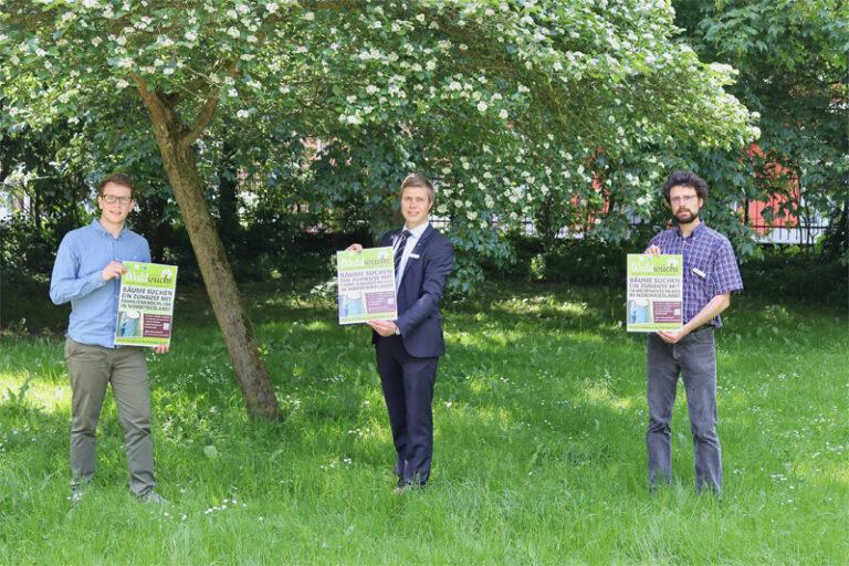 Klimabündnis Nordfriesland fördert kostenlose Bäume für den Klimaschutz in privaten Gärten