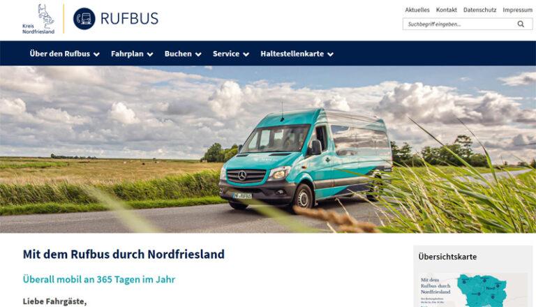 Zwei Jahre Rufbus Nordfriesland: Trotz Corona erfolgreich unterwegs